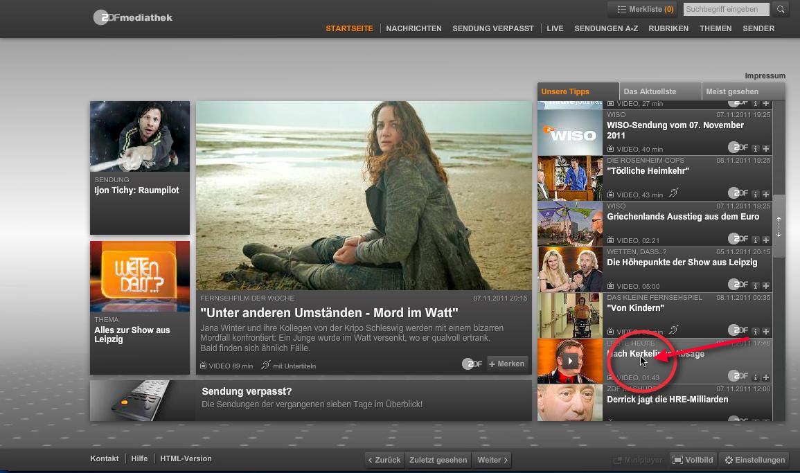 Zdf mediathek download lieblings tv shows for Ndr mediathek filme